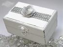 Škrinjica za vjenčano prstenje - White Shine