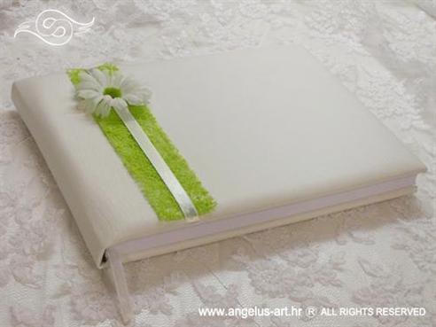 bijela knjiga dojmova za vjenčanje sa margaretom