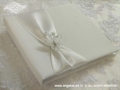 Knjiga za prstenje White Butterfly