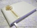 Knjiga gostiju za vjenčanje Krem elegantna ruža