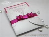 Wedding invitation - Pearl White Beauty