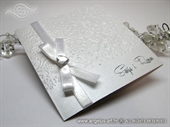 Pozivnica za vjenčanje - Stylish Pearl White