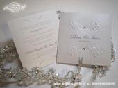 Pozivnica za vjenčanje White Charm 2
