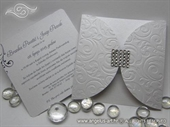 Wedding invitation - Square Crystal Diva