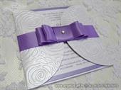 Pozivnica za vjenčanje - Purple Rose Diva