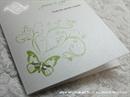 Zahvalnica za vjenčanje Green Butterfly