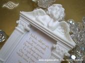 Konfet za vjenčanje Anđeo - magnet sa slikom