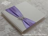 Knjiga za prstenje Purple Butterfly