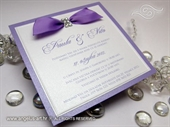 Wedding invitation - Lovely Violet