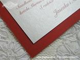 bordo pozivnica za vjenčanje detalj