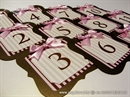 Broj stola -Brownie Pink