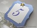 Broj stola za svadbenu svečanost - Blue Frame