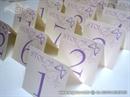 Broj stola za svadbenu večeru Purple Butterfly