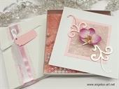 Ekskluizivna čestitka - Pink Orchid