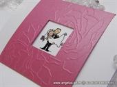 Pozivnica za vjenčanje Pink True Love