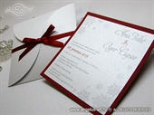 Wedding invitation - Red Winter Beauty
