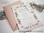 Pozivnice za vjenčanje - Rose Flowers Bloosom