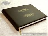 Knjiga gostiju za vjenčanje Diamond smeđa