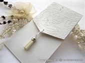 Pozivnica za vjenčanje - Elegant White Clasic