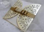 Pozivnica za vjenčanje -  Exclusive Cream Diva