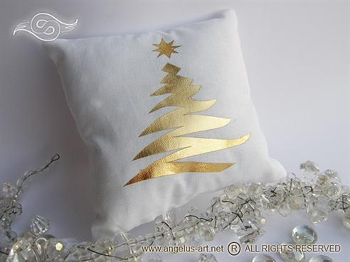 """Jastučić """"Golden Christmas"""""""