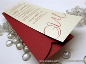 Wedding invitation - Bookmark Line Charm
