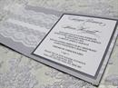 budget printed wedding invitation