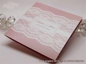 Pozivnice za vjenčanje - Budget Pink Lace