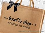 jutena shopping torba sa fora natpisom