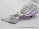 Kitica i rever za vjenčanje Uhvaćeni u mreži - lilac silver