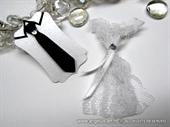 Boutonniere and bracelet - Tie & Lace Dress