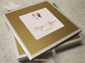 Knjiga dojmova -Gold Dots Guestbook