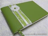 Knjiga gostiju za vjenčanje Zelena margareta