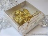 konfet anđeo u kutijici zlatni