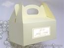 Kutija za kolače - Krem kutija za kolače (manja)