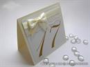 Broj stola za vjenčanje - Cream Lace Charm