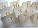 Broj stola za svadbenu svečanost -Cream Royal