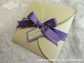 Wedding invitation - Beauty Lavander