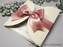Pozivnica za vjenčanje  - Cream Pink Diva
