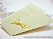 Pozivnica za vjenčanje Charm Cream Plus