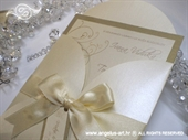 Wedding invitation - Cream Beauty