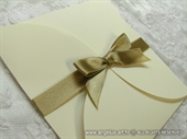 Wedding invitation - Gold Beauty Budget