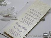 Pozivnica za vjenčanje - Purple Butterfly Linea