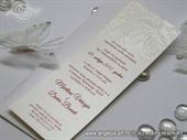 Pozivnica za vjenčanje - Red Butterfly Line