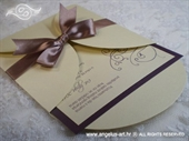 Wedding invitation - Dark Beauty