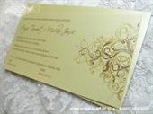 Pozivnica za vjenčanje Golden Line