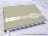 Krem zlatna knjiga gostiju za vjenčanje