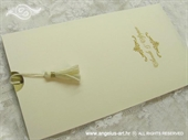 Pozivnica za vjenčanje Golden Queens Charm