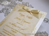 Pozivnica za vjenčanje Gold Blossom