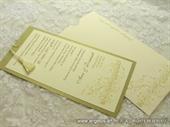 Pozivnica za vjenčanje Golden Music Charm